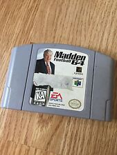 Madden Football 64 Nintendo 64 N64 Game Cart Good Works NG1