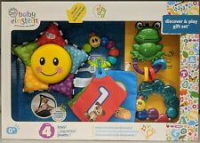 Baby Einstein Discover and Play Baby's Gift Set 4 Activity Toys for Newborns