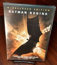 Batman Begins (Dvd, 2005, Widescreen)New(Sealed)Fre e Shipping with Tracking