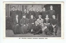St Helens Parish Church Mission Lancashire 1908 Colonel Pendlebury Southport
