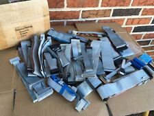 Lot of vintage Computer hardware connector ribbon cable 5 pound