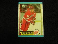 BEAUTIFUL 1989-90 Topps #83 Steve Yzerman Card, Detroit Red Wings, VERY NICE!