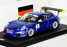 PORSCHE 911 GT3 CARRERA CUP #1 CHAMPION GERMANY 2013 SPARK LIM. SG109 1:43