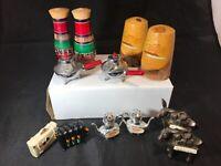Vintage Mixed Lot Souvenir Salt & Pepper Shakers And Miscellaneous