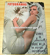 FOTOGRAMAS 918 RAQUEL WELCH Cover+2 Pg 1966 CARY GRANT KIRK DOUGLAS CHRISTOPHE