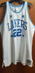 Elgin Baylor Los Angeles Lakers Mitchell And Ness Jersey LA LAKERS USED Size 56