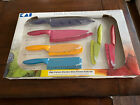 Pure Komachi 2 High-carbon Stainless Steel Kitchen Knife Set Of 6 Multicolor New