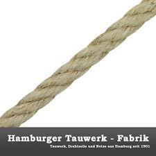 4mm Hanf-Tauwerk, naturfarben Hanfseil Hanfleine 10m-3G
