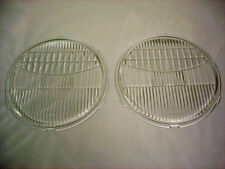1928 29 30 31 Ford Model A Glass Headlight Lens PAIR 28