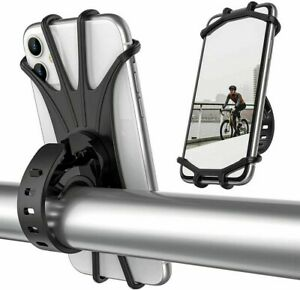 Bicycle Bike Cycling Mobile Phone Holder Bracket Mount for Handlebar Universal