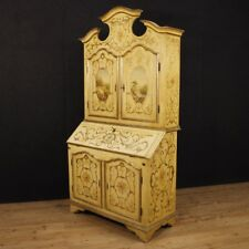 Scriban laqué vénitien meuble trumeau bois bureau secrétaire table commode 900