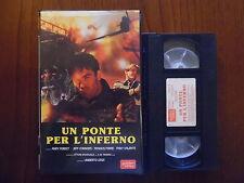 Un ponte per l'inferno (Umberto Lenzi, Andy J. Forest) - VHS Golden Video rara