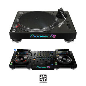 Pioneer DJ Logo - Silver Pearlescent - Decal Sticker - PLX-500 - PLX-1000