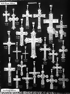 New Sterling Silver D/C Charm Religion Selection - #5 - 23 Styles