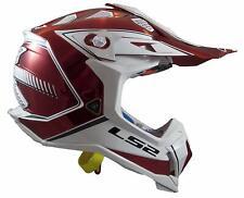LS2 Subverter MX470 Blade MX Offroad Helmet Red