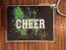 Cheerleading Keychain with Cheer