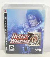 Dynasty Warriors 6 Sony PlayStation 3 PS3 Game Disc Near Mint PAL UK
