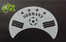 "Facepainting - Schablone / Airbrush-Schablone / Tattoo-Schablone  ""Germany"""