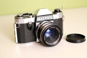 Analoge Kamera Praktika Nova (2te Version) mit Meyer Optik Oreston 50mm 1.8