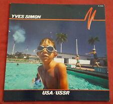 YVES SIMON  LP ORIG FR USA / USSR