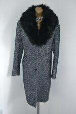 ~ GIANNI FERAUD ASOS ~ Designer Wool Mix Coat Jacket Size 14 Dress Tweed