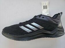 Adidas Mens Speed Trainer 4 Baseball Turf Shoe CG5135 Black/Carbon New Size 10