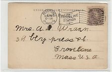 LEMBRANCA DE SAO MIGUEL: Azores postcard mailed in USA (C26448)