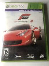 Forza Motorsport 4 (Xbox 360, 2011) Complete With Manual CIB