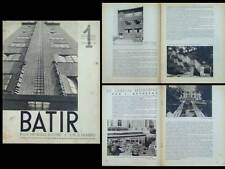 BATIR N°1 1932 JEAN EGGERICX, PAUL BONDUELLE, OSSIP ZADKINE, MALINES, JARDIN