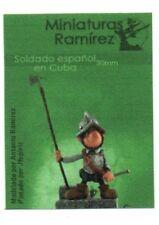 MINIATURAS RAMIREZ - SOLDADO ESPANOL EN CUBA - 30mm METAL KIT