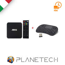 PSP* KIT ANDROID TV BOX INTERNET SMART TV M8S 4K MINI PC + MINIKEYBOARD WIRELESS