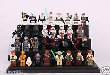 2018 Hot 32 Pcs Set Star wars Rylo Ren storm tropper yoda Darth Vader fit Lego