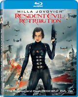 Resident Evil: Retribution Blu Ray *NEW & SEALED* plus SPECIAL FEATURES !