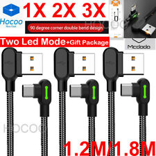LOT 321 Braided Type-C USB-C Fast Charger Cable Cord  Long F Samsung Note 9 iPad