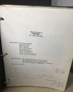 Bram Stoker's DRACULA By John Spitzer Play Script