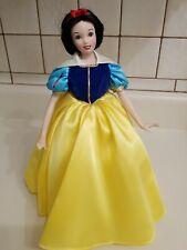 "Disney Snow White 14"" Porcelain Doll Franklin Heirloom Mint"