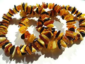 Lot -3  Natural  Baltic Amber Bracelets (multicolor)