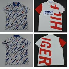 NWT Men's Tommy Hilfiger Short-Sleeve Wicking Performance Pique Polo Shirt