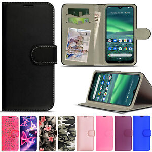 Case For Nokia 2.4/1.3/3.4/5.3 Wallet Flip Leather Stand Card Slot Phone Cover