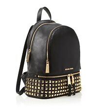 Bnwt Michael Kors Rhea Studded Leather  30S5SEZB5L Backpack Rrp £330