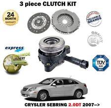 FOR CHRYSLER SEBRING 2.0 DT CRDI JS ECD 2007-->  CLUTCH KIT WITH SLAVE CYLINDER