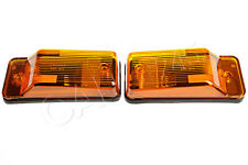 Universal Indicator Marker Lights Front PAIR 165x73 mm OEM