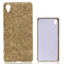 HOT marble printed wood chips slim Case Cover skin For Sony Xperia X Performance