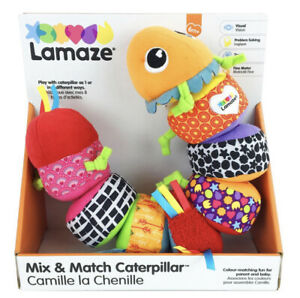 Lamaze MIX & MATCH CATERPILLAR Baby / Toddler Sensory Toy (6 Months+) *NEW*