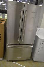 """KitchenAid Krff302Ess 33"""" Stainless French Door Refrigerator Nob T-2 #14900 Clw"""