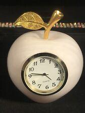 Beautiful Pink Mangano Apple Clock 324 Grams! UV Reactive!