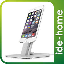 Twelve South HiRise Deluxe for iPhone 7, 7 plus / 6, 6S / 6 plus, 6S plus Silver