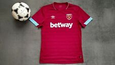 WEST HAM UNITED 2018-2019 UMBRO HOME FOOTBALL SOCCER SHIRT JERSEY L