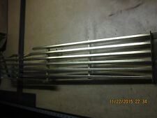1958 PLYMOUTH R.H. GRILLE HALF GOLD ANODIZED