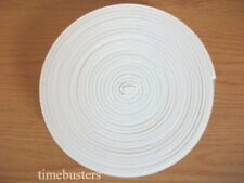 3m White Foam Draught Excluder Tape Single Sided Self Adhesive 10mm x 3mm